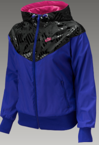 Nike Shiny Print Womens Windrunner Jacket