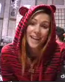Maryss in Abbey Dawn Zebra Hoodie