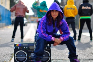 Teresa Espinosa & Beat Freaks w/ Lasonic Boombox (Photo by Cole Walliser)