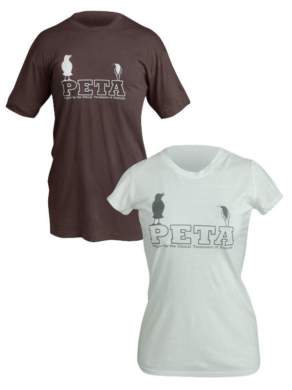 PETA Crow & Roach T-Shirt