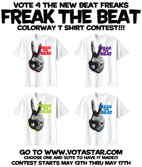 Freak the Beat Shirt vote