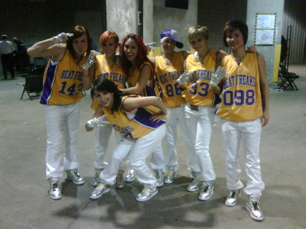 Beat Freaks Perform at Lakers Halftime