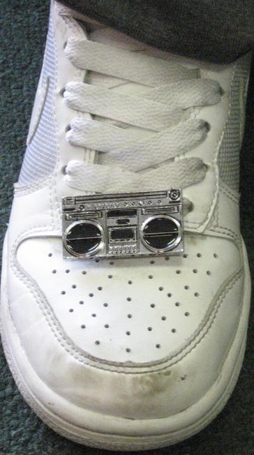 BGirl Shorty Wearing Shoeture Beat Freaks Buckle
