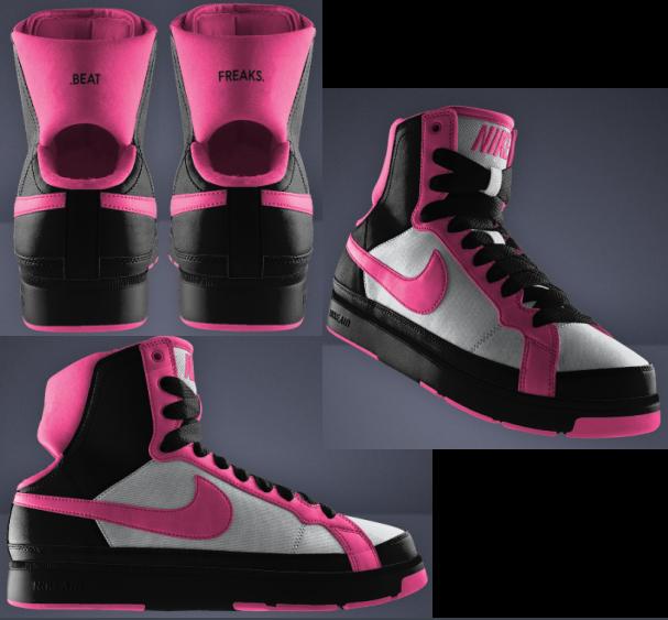 Nike Troupe Mid ID Dance Shoe
