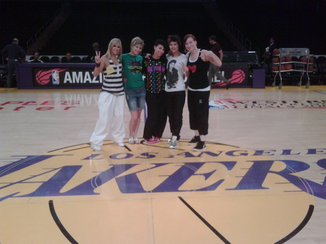 Beat Freaks on Lakers Court