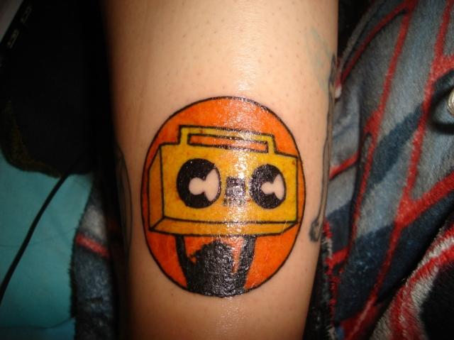 K-Raz Kris' Beat Freaks Tattoo