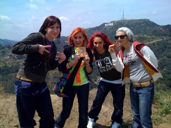 LA Pride tee on teresa