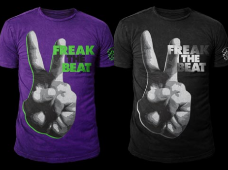Freak The Beat Shirts Threader