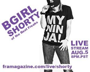 Bgirl Shorty Fra Live
