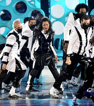 Janet Jackson at MTV VMA MJ Tribute
