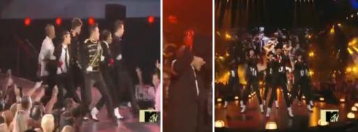 Rino Nakasone Razalan at MTV VMA MJ tribute